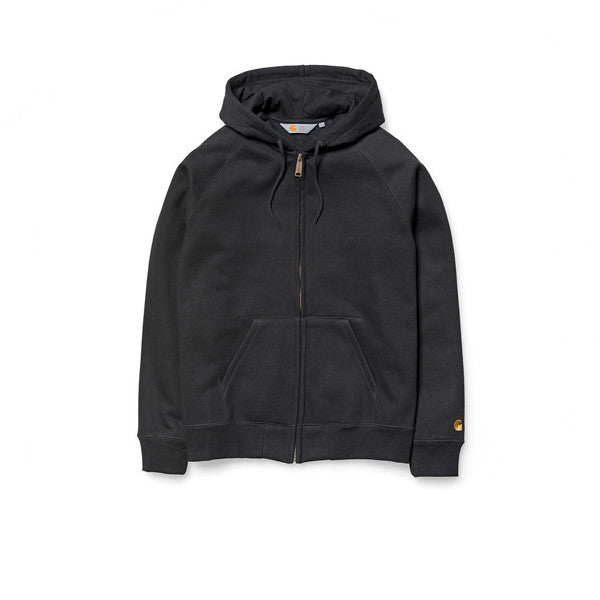 Carhartt Hooded Chase Jacket Black - Kong Online