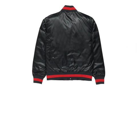 Nike SB NBA Bomber Jacket Black University Red
