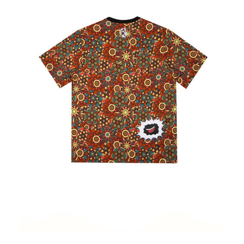 BBC Peyote Logo Print T-Shirt Orange