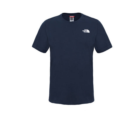 The North Face SS Red Box Tee Navy - Kong Online - 1