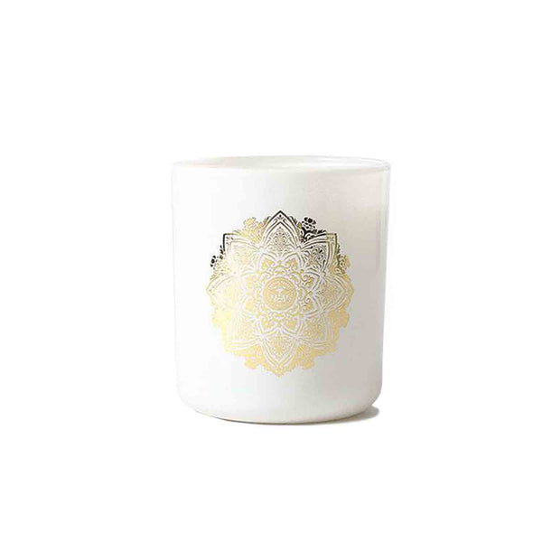 Obey Mandala Candle White