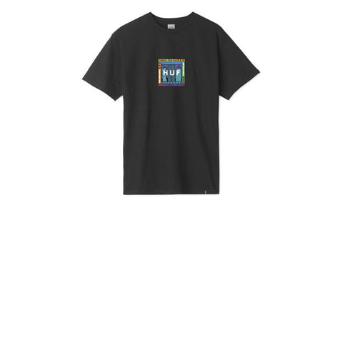 HUF Gift Shop Box Logo S/S Tee Black