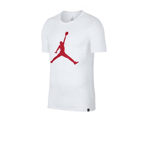 Air Jordan 6 T shirt White University Red