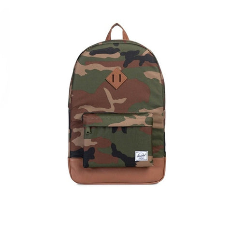 Herschel Heritage Woodland Camo Tan Synthetic Leather