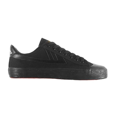 Warrior Shanghai Classic Low Black Black