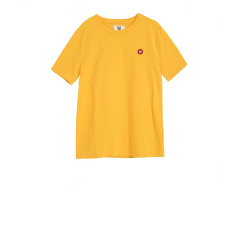 WOOD WOOD Ace T-Shirt Yellow