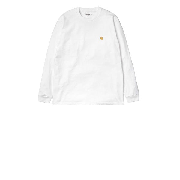 Carhartt L/S Chase T-Shirt White