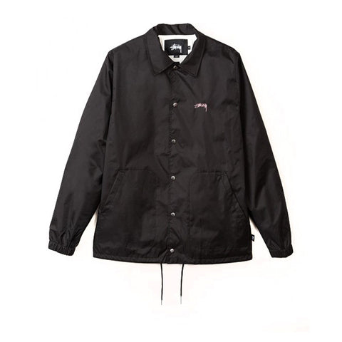 Stussy Spring Coach Jacket Black