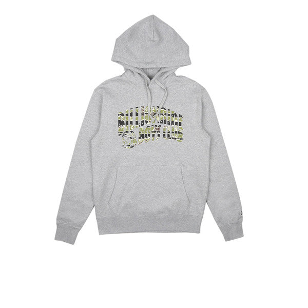BBC Camo Arch Pop Over Hood Heather Grey - Kong Online - 1