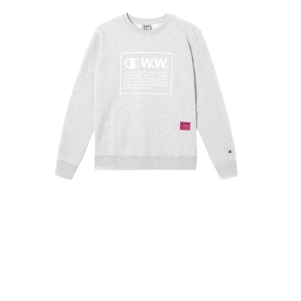 Champion x WOOD WOOD Crewneck Sweatshirt Grey