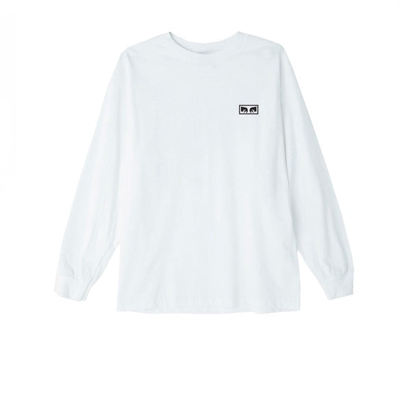 Obey No One L/S Tee White