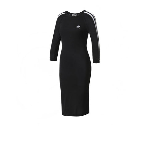 Adidas 3 Stripes Dress Black - Kong Online - 1
