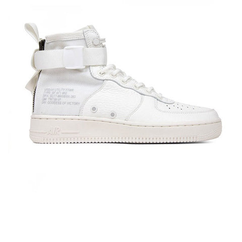 Nike SF AF1 Mid Ivory Reflective Silver