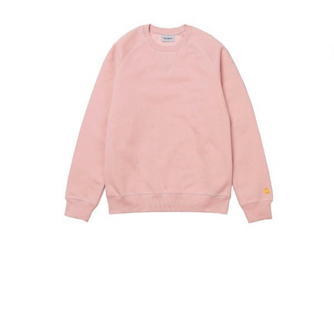 Carhartt Chase Sweat Soft Rose Gold