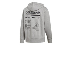 Adidas Kaval FZ Hoody Grey Heather