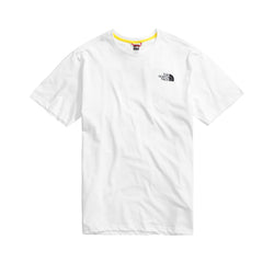 The North Face SS Rainbow Tee White Lemon