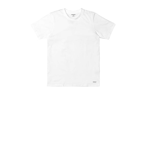 Carhartt Standard Crew Neck T-Shirt White Grey Heather