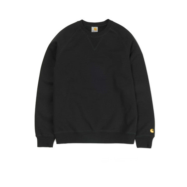 Carhartt Chase Sweat Black - Kong Online - 1