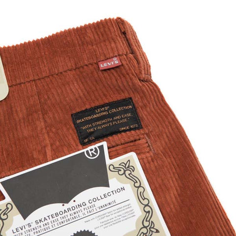 Levis Skate Pleated Trouser SE Bombay Brown