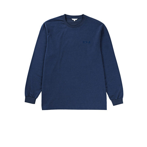 Polar Micro Striped L/S Navy Dusty Blue - Kong Online - 1