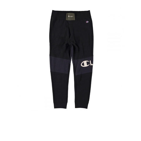 Champion Rib Cuff Pants Black Fon