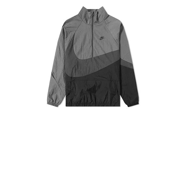 Nike VW Swoosh Woven Halfzip Jacket Black Anthracite