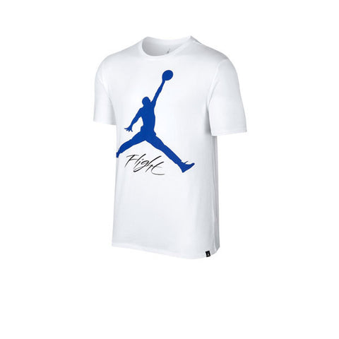 Air Jordan JSW Tee AJ4 Mtrsprt White Blue