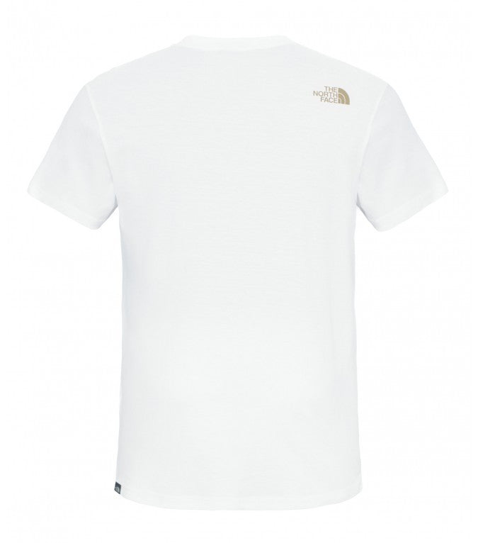 The North Face Simple Dome Tee White - Kong Online - 2