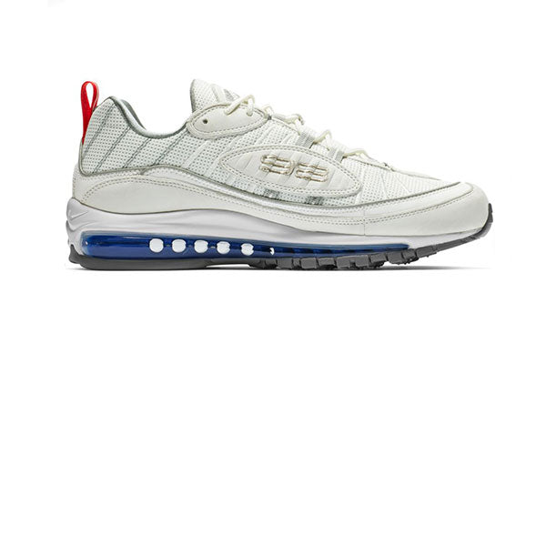 Nike Air Max 98 Summit White Metallic Sliver