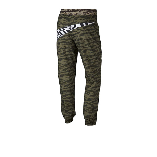 Nike Printed VW Swoosh Woven Pant Medium Olive White