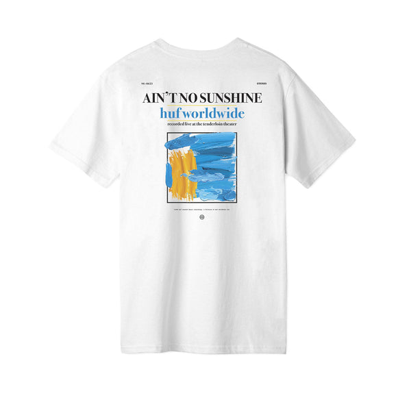 HUF S/S Aint No Sunshine Tee White