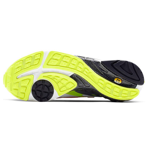 Nike Air Ghost Racer White Atom Red Neon Yellow Dark Grey