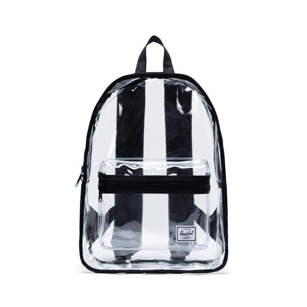 Herschel Clear Bag Classic Black Clear