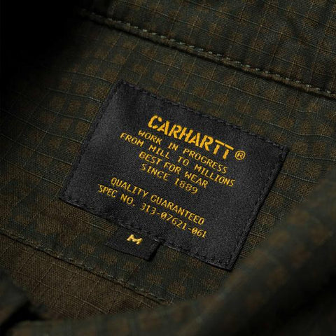 Carhartt L/S Mission Shirt Camo Night Combat Green