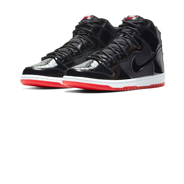 Nike SB Zoom Dunk High TR QS Black White Varsity Red