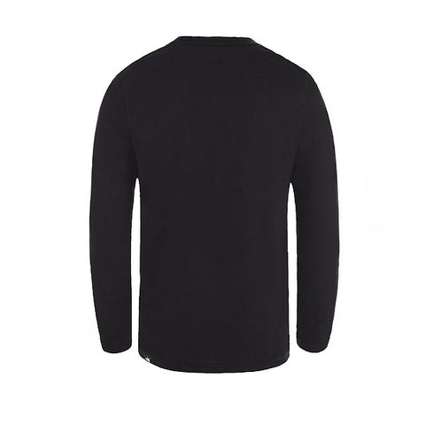 The North Face L/S Fine Tee TNF Black TNF White