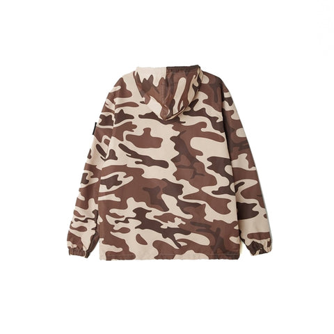Obey Crosstown Anorak Camo