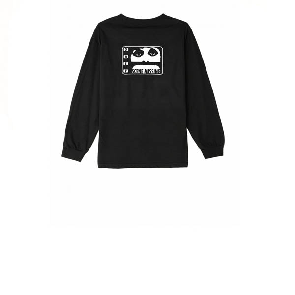 Obey Scene Missing L/S Tee Black