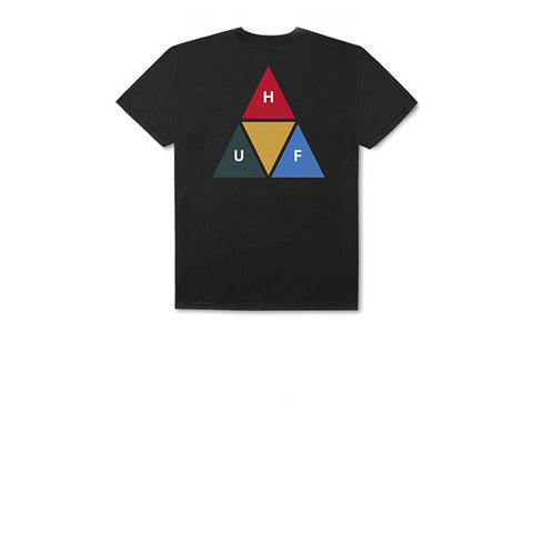 HUF Prism Triangle S/S Tee Black