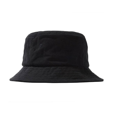Stussy Stock Canvas Bucket Hat Black