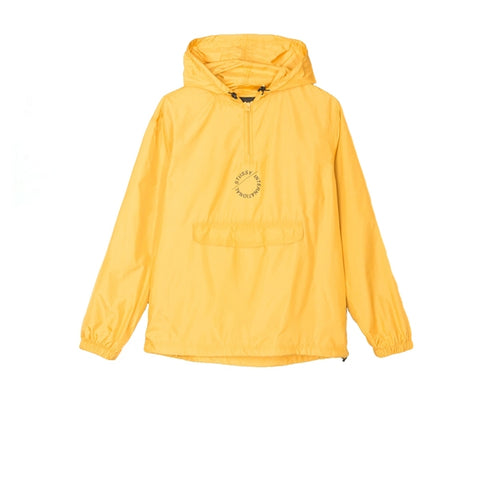 Stussy Nylon Pop Over Jacket Gold