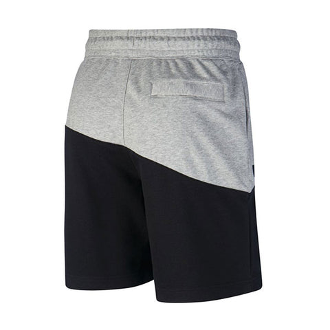 Nike Swoosh Shorts Dark Grey Black