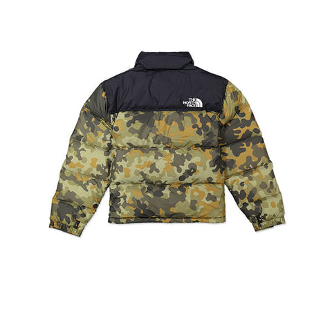 The North Face 1996 SSNL Nuptse Jacket New Taupe Green Black