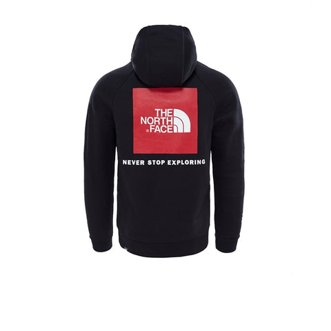The North Face Raglan Red Box HD TNF Black