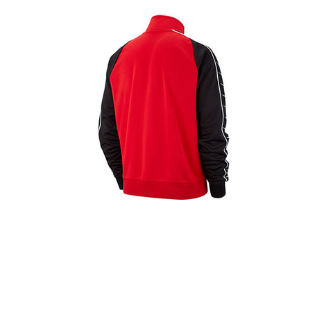 Nike Taped Swoosh Track Jacket University Red Black
