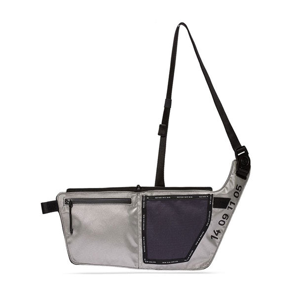 Nike Tech Sidebag Grid Iron Silver Black