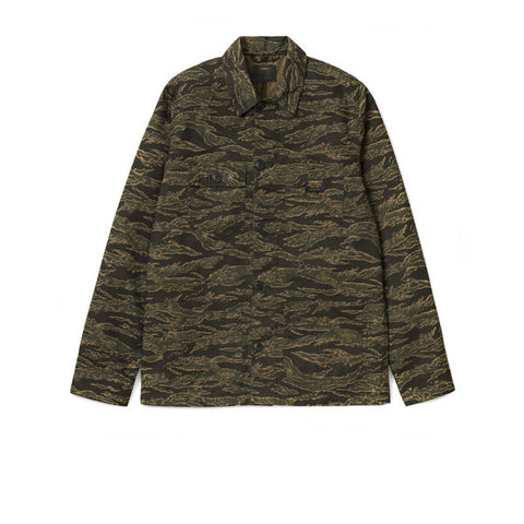 Carhartt Michigan Chore Coat Camo Tiger Laurel Rinsed - Kong Online