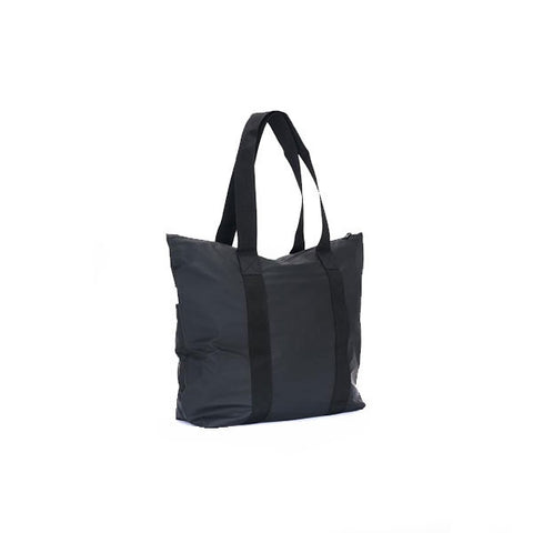 Rains Tote Bag Rush Black