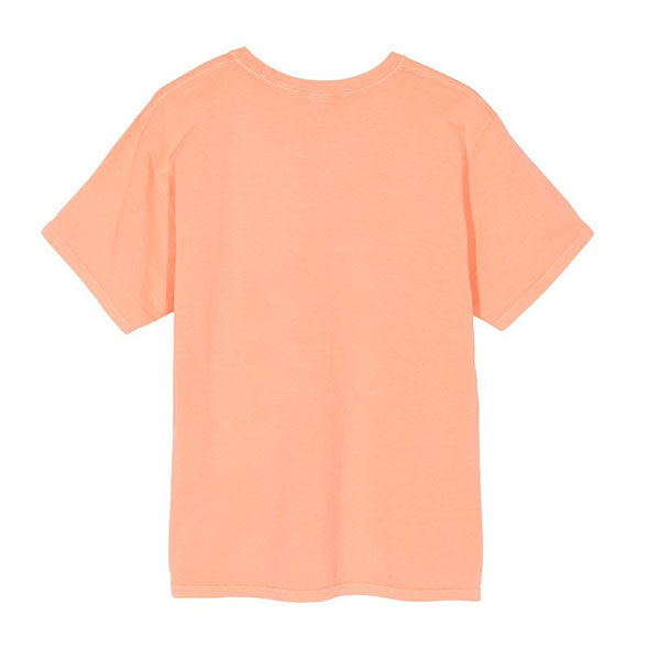 Stussy Tour Pig Dyed Tee Coral