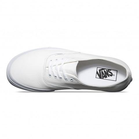 Vans Authentic Decon Premium Leather White - Kong Online - 2